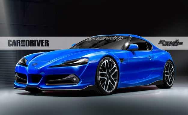Toyota Supra Concept Car