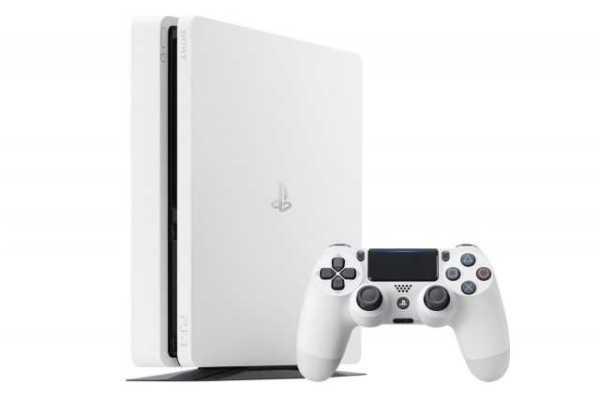 White PS4 Slim