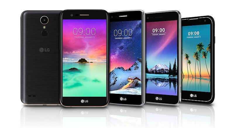 LG K3, LG K4, LG K8, LG K10 and LG Stylus 3