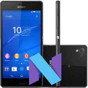 Sony Xperia Z3+ Android 7.0 Nougat