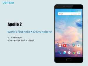 Vernee Apollo 2 with MediaTek Helio X30