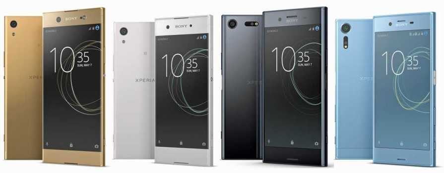 Sony Xperia XZ Premium and Sony Xperia X 2017