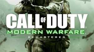 Call of Duty Modern Warfare Remastered Weapon