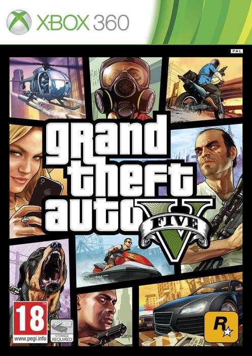 GTA 5 Xbox 360 Edition
