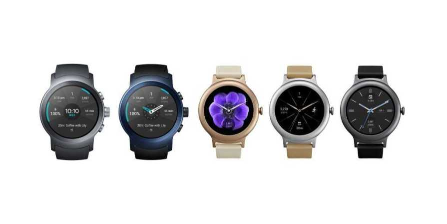 LG Watch Sport and Watch Style