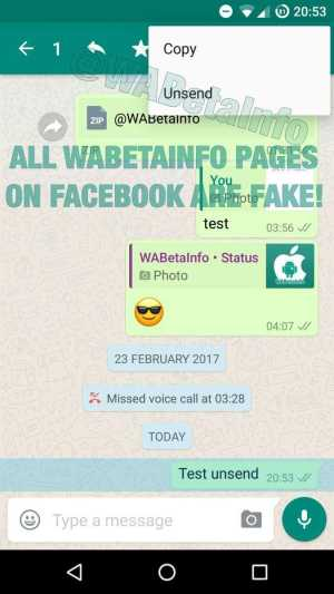 WhatsApp Beta for Android 2.17.83
