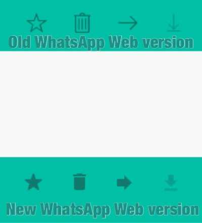 WhatsApp Web 0.2.3571 new UI