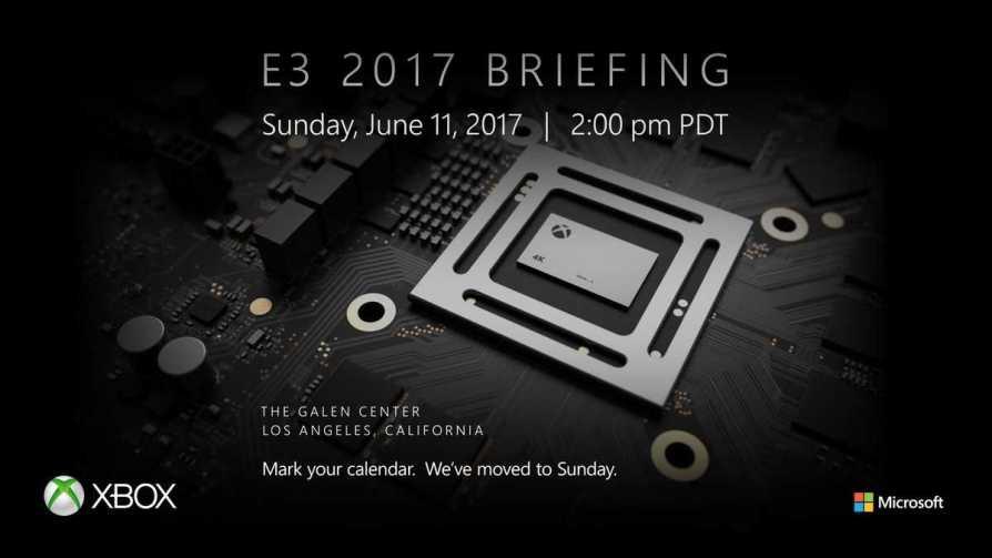 Xbox Scorpio E3 2017 Reveal