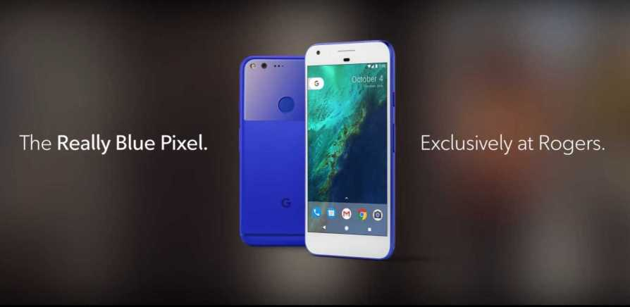 Really Blue Google Pixel and Pixel XL
