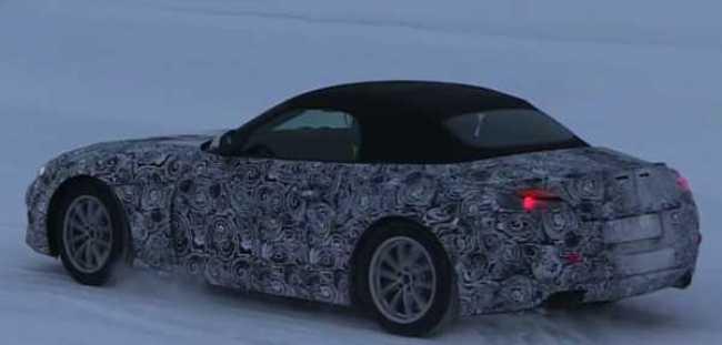 2018 BMW Z4 Test