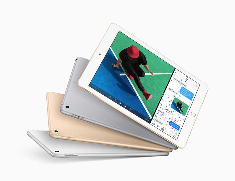Apple Updates The iPad With The A9 Chip Starts $329
