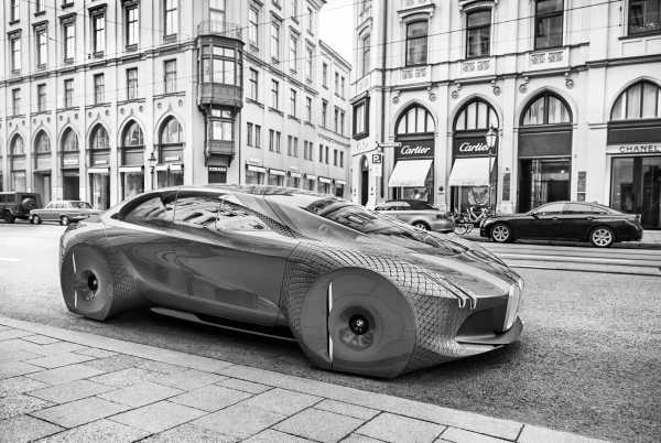BMW i Flagship Car 2021