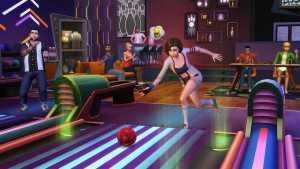 Bowling Night Stuff pack The Sims 4