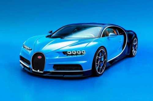 Bugatti Chiron First Batch