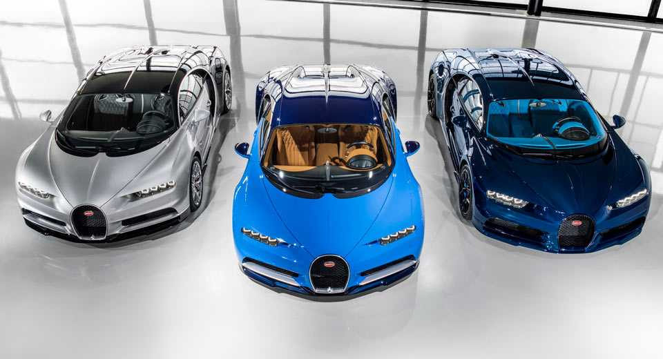 First Bugatti Chiron customer cars delivered