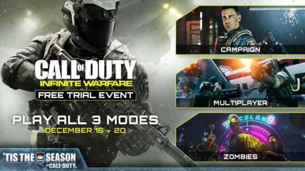 Call of Duty Infinite Warfare Free Trial