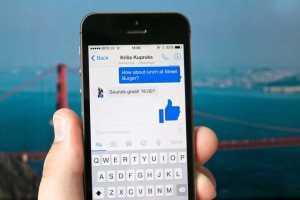 Facebook Messenger dislike