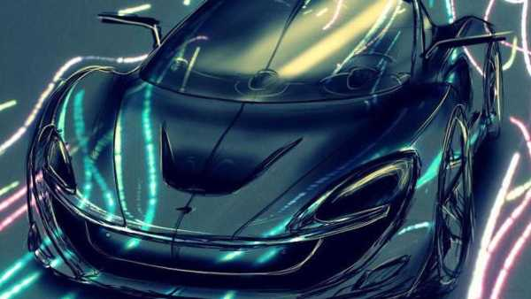 McLaren Supercar Teaser