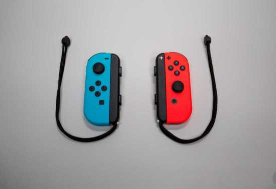 Nintendo Switch Joy Con controllers