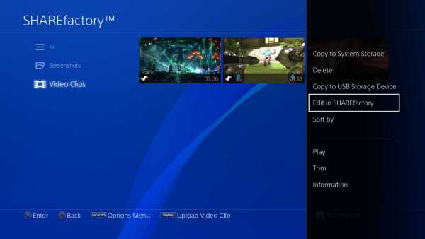 PS4 Sharefactory Update Released