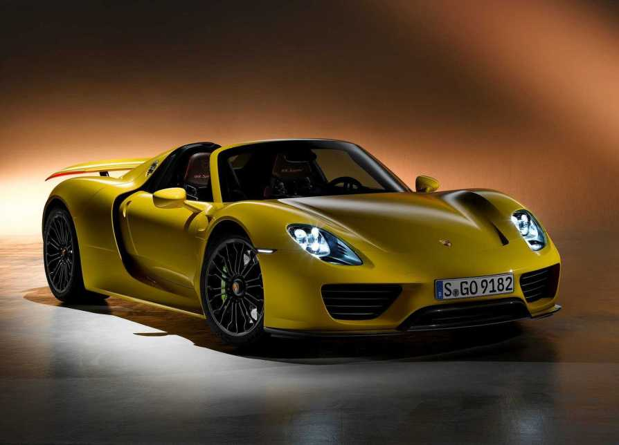 Porsche 918 Next Gen Edition