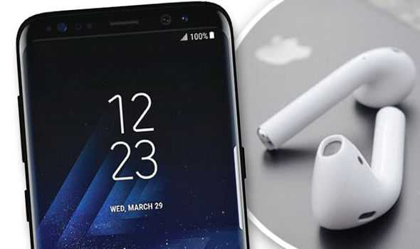 Samsung Galaxy S8 AirPods