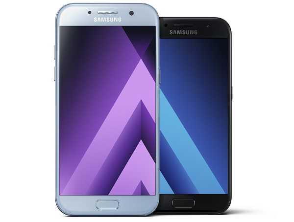 Samsung Galaxy A5 2017, Samsung Galaxy A7 2017 and HTC U Ultra