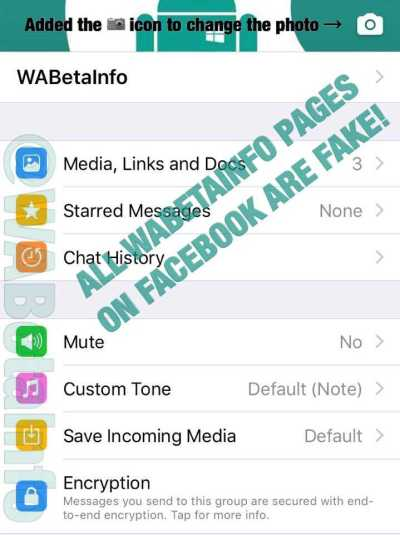 WhatsApp beta for iOS 2.17.10.390