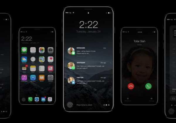 iPhone 8 Edgeless OLED Screen