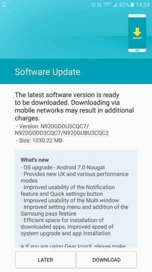 Samsung Galaxy Note 5 and Galaxy S5 Getting Essential OTA Updates