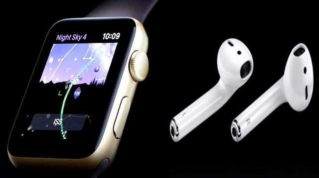 Apple Watch and AirPods