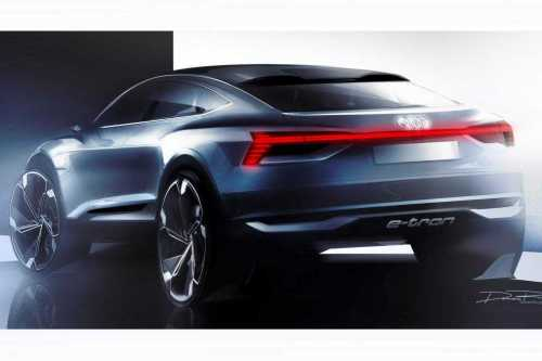 Audi Pure Electric Coupe-like SUV