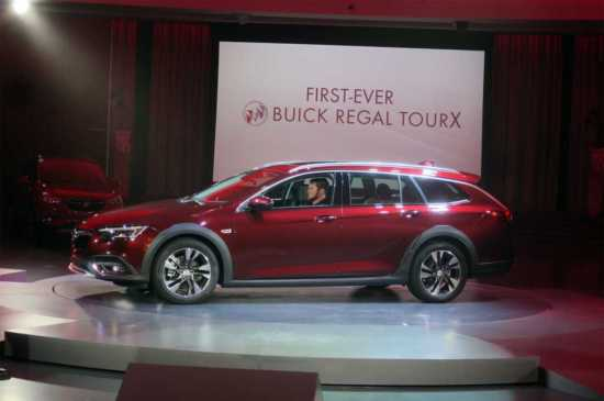 Buick Regal 2017 Shanghai Auto Expo