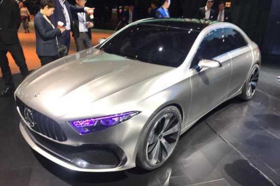 Mercedes Benz Concept A Sedan