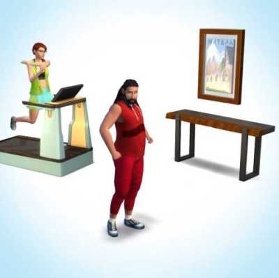 The Sims 4 Fitness Pack DLC