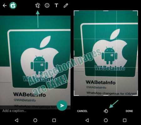WhatsApp Android 2.17.147 Add New Edit Features for Images ...