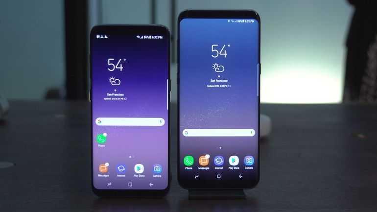 Google Pixel vs Samsung Galaxy S8