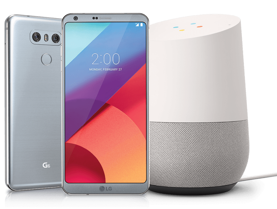LG G6 with free Google Home
