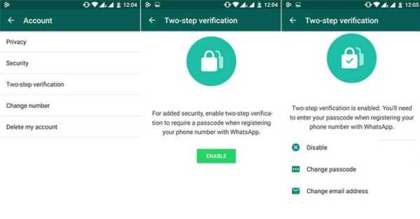 whatsapp Two-Factor Verification