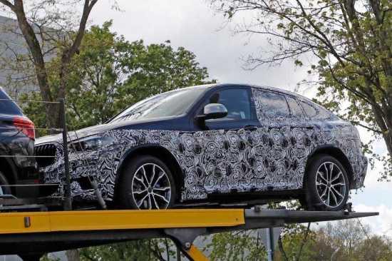 2018 BMW X4 SUV Spy Photos