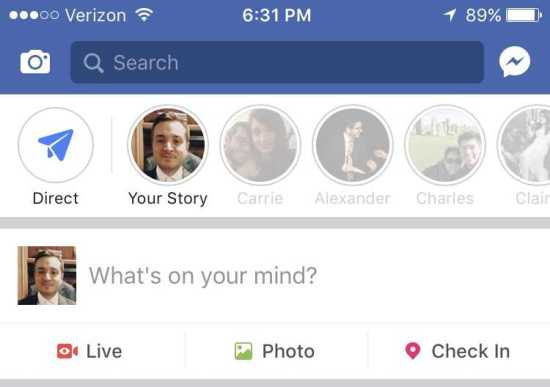 Facebook Stories Abandoned By Users