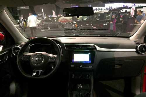 MG XS SUV at London Motor Show