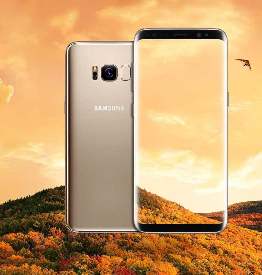 Samsung QLED TV and Samsung Galaxy S8 Plus