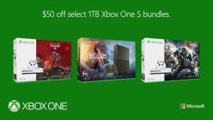 Xbox One S 1TB Bundles