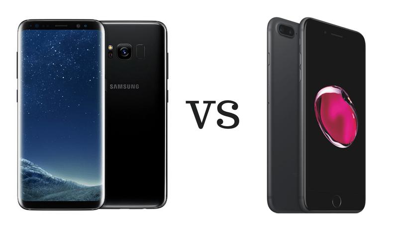 Apple iPhone 7 vs Samsung Galaxy S8