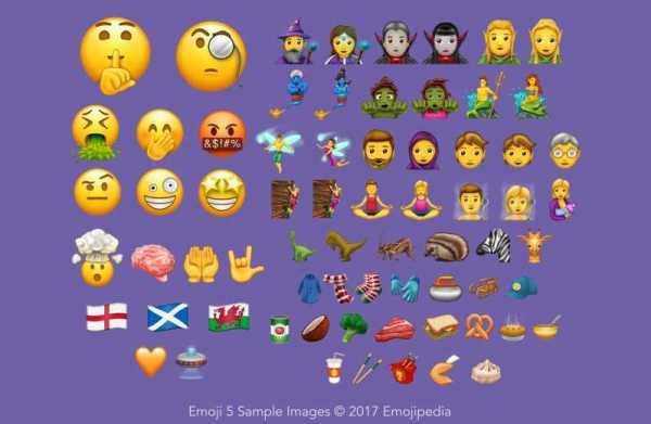 Android O New Emojis