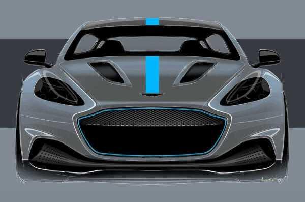 Aston Martin RapidE Luxury Electric Car