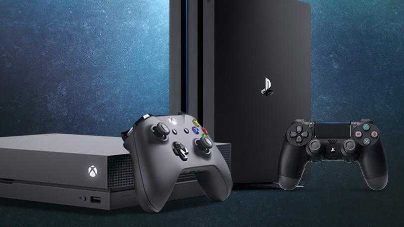 Xbox One X and PS4 Pro