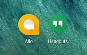 Google Allo and Google Hangouts