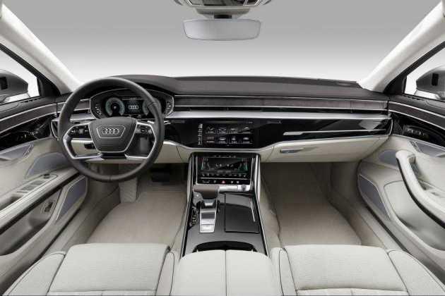 2017 Audi A8 dashboard